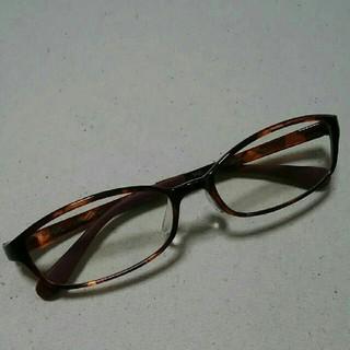 JINS ジンズ エアフレーム PC用メガネ 茶色
