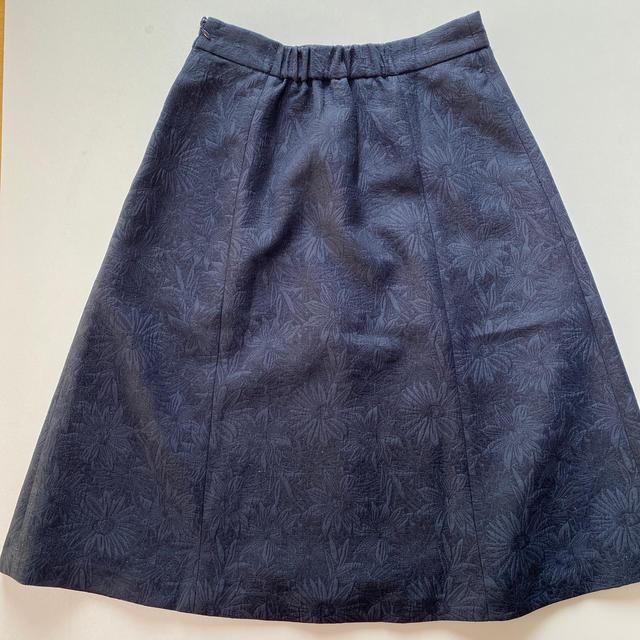 SunaUna(スーナウーナ)のスーナウーナ ネイビー スカート  レディースのスカート(ひざ丈スカート)の商品写真