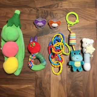 ミキハウス(mikihouse)の0歳 おもちゃ おしゃぶり ラトル(がらがら/ラトル)