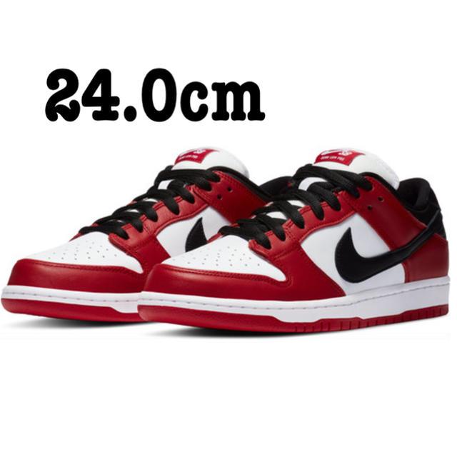 NIKE(ナイキ)の24.0cm 【NIKE SB】DUNK LOW PRO シカゴ ダンク メンズの靴/シューズ(スニーカー)の商品写真