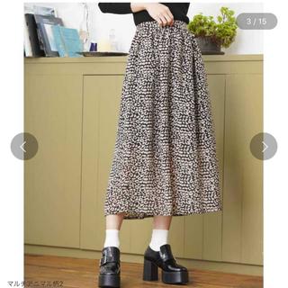 ウィゴー(WEGO)のレオパード柄ロングスカート(ロングスカート)