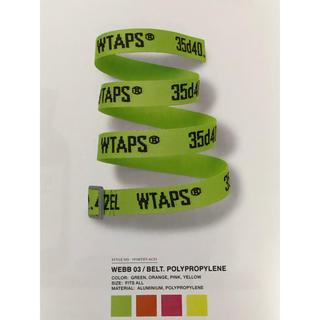 ダブルタップス(W)taps)のWTAPS 19ss WEBB BELT (ベルト)