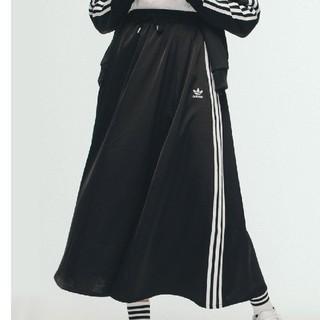 アディダス(adidas)の【新品・未使用】adidas ロングスカート Mサイズ(ロングスカート)