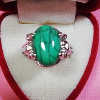 20号新品天然石ターコイズリング指輪(リング(指輪))