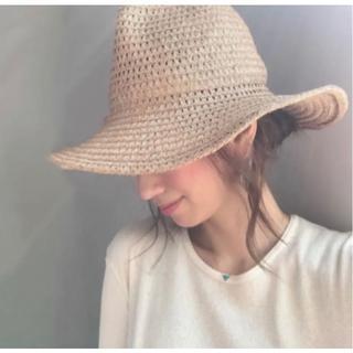 ロンハーマン(Ron Herman)のmarihojaマリホジャ☆Paper blade lace tulip hat(ハット)