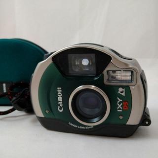 キヤノン(Canon)のキャノンCanon Ixy D5 フィルムカメラ ストラップ ケース付き(フィルムカメラ)