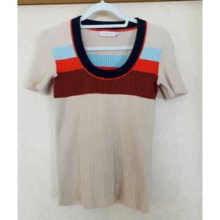 トリーバーチ(Tory Burch)の【yo 2さん専用】TORY BURCH ニットTシャツ(Tシャツ(半袖/袖なし))