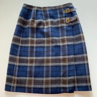 ドゥファミリー(DO!FAMILY)のウール 巻きスカート (ひざ丈スカート)
