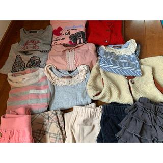 シップスキッズ(SHIPS KIDS)の女の子 キッズ 80cm 〜 95cm まとめ売り(Tシャツ/カットソー)