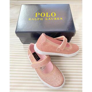 ラルフローレン(Ralph Lauren)の新品 ラルフローレン サンダル 17.1センチ ラメ ピンク(サンダル)