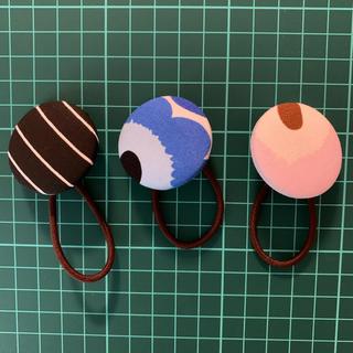 マリメッコ(marimekko)のマリメッコ ミニウニッコブルー含む くるみボタンセット(ヘアアクセサリー)