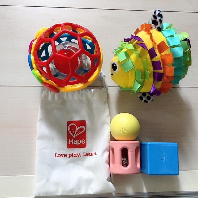 Sassy(サッシー)のガラガラおもちゃ 三種セット キッズ/ベビー/マタニティのおもちゃ(がらがら/ラトル)の商品写真