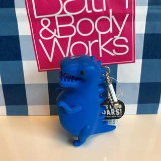 バスアンドボディーワークス(Bath & Body Works)の【新品】バスアンドボディワークス ジェル ホルダー サウンドダイナソー(キーホルダー)