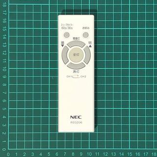 NEC - NEC 照明リモコン RE0206