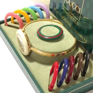 グッチ(Gucci)の5.超美品 グッチ GUCCI 時計 チェンジベゼル(腕時計)