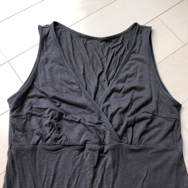 MUJI (無印良品)(ムジルシリョウヒン)の無印良品 あったか 授乳 マタニティ  インナー 肌着 キッズ/ベビー/マタニティのマタニティ(マタニティ下着)の商品写真
