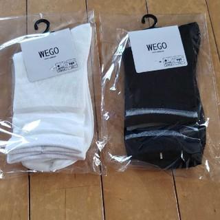 ウィゴー(WEGO)の新品未使用 WEGO    靴下(ソックス)