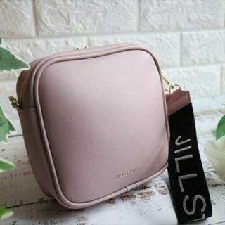ジルスチュアート(JILLSTUART)のジルスチュアートロゴストラップ付きバッグ(ハンドバッグ)