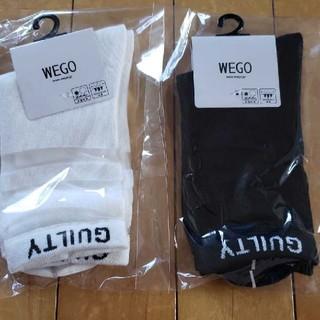 ウィゴー(WEGO)の新品靴下 WEGO(ソックス)