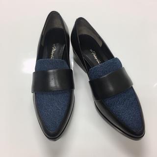スリーワンフィリップリム(3.1 Phillip Lim)の新品 フィリップリム デニムローファー(ローファー/革靴)