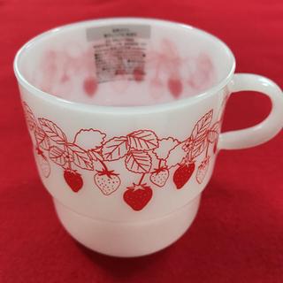 アフタヌーンティー(AfternoonTea)のAfternoon Tea アフタヌーンティー ♡ イチゴ耐熱ミルクマグカップ(グラス/カップ)