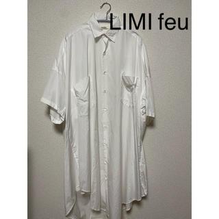 リミフゥ(LIMI feu)のリミ フゥ オーバーシャツワンピース(ロングワンピース/マキシワンピース)