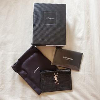 サンローラン(Saint Laurent)の新品未使用 サンローラン コインケース カードケース 財布(コインケース)