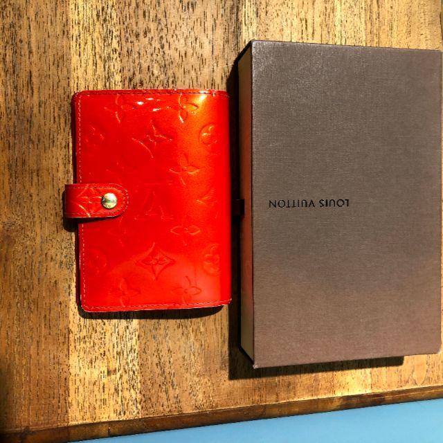 LOUIS VUITTON(ルイヴィトン)のアジェンダPM手帳カバー スケジュール帳 ヴェルニ レディースのファッション小物(その他)の商品写真