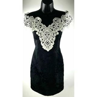 TADASHI SHOJI - vintage dress 【1450】