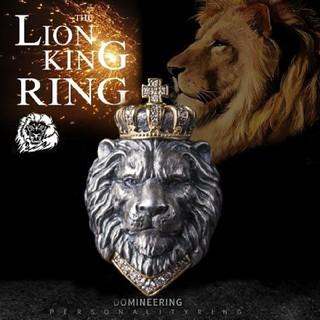 ライオン 王冠リング(リング(指輪))
