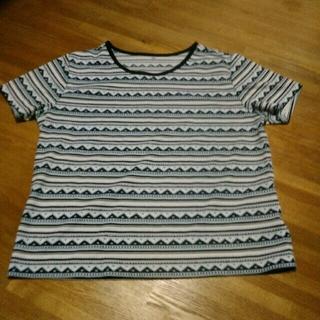 ニッセン(ニッセン)のニッセン 半袖 Tシャツ ポリエステル XL(Tシャツ(半袖/袖なし))