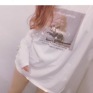 ワンアフターアナザーナイスクラップ(one after another NICE CLAUP)のandlottie original glaphic tee🦙(Tシャツ/カットソー(七分/長袖))