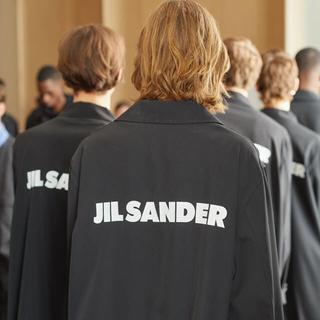 ジルサンダー(Jil Sander)のjil sander ロゴコート ステンカラーコート(ステンカラーコート)