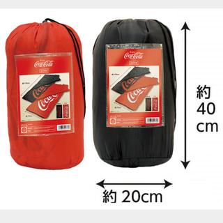 コカコーラ 寝袋 赤
