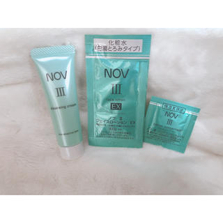 NOV - NOVⅢサンプルセット☆クレンジング化粧水ノブ