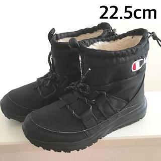 チャンピオン(Champion)の新品 ブーツ  レディース   チャンピオン 黒 ボア 22.5cm(ブーツ)