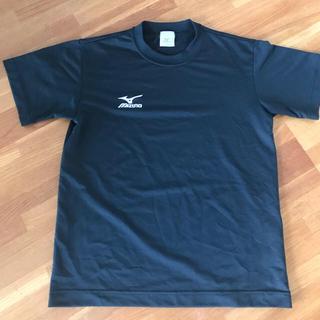 ミズノ(MIZUNO)のMIZUNO  Tシャツ S  黒(ウェア)