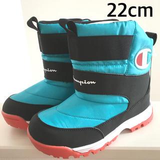 チャンピオン(Champion)の新品 チャンピオン ブーツ  ジュニア 22cm 防水 waterproof(ブーツ)