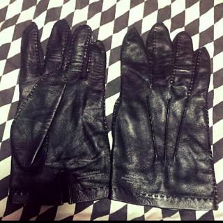 ワコマリア(WACKO MARIA)のワコマリア レザーグローブ  Mode in Italy(手袋)