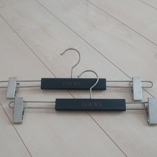 ロエベ(LOEWE)のロエベハンガー3本もふもふ様専用(押し入れ収納/ハンガー)