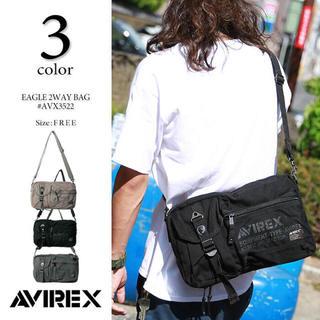 AVIREX - AVX 3522 アヴィレックス avirex 秋冬最新作 ショルダーバッグ ☆