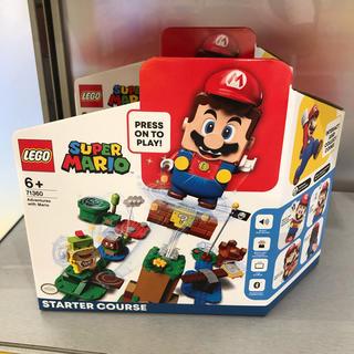 レゴ(Lego)の71360【新品・未開封】レゴ マリオ スターターキット(知育玩具)
