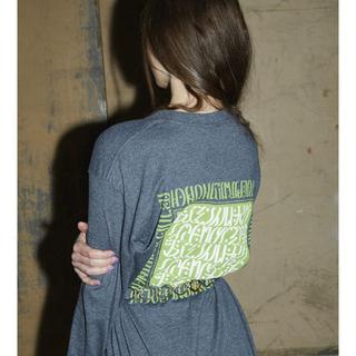 MACCIU TYPO L/S(Tシャツ(長袖/七分))