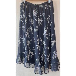 ローズティアラ(Rose Tiara)のローズティアラ 42 花柄スカート(ひざ丈スカート)