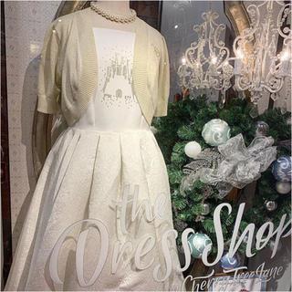 ディズニー(Disney)のDisney dress shop  ホワイトドレス ワンピース(その他)