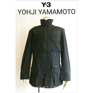 ヨウジヤマモト(Yohji Yamamoto)の新品タグ付 ヨウジヤマモト Y-3 M CHECK MESH FILD JKT(ブルゾン)
