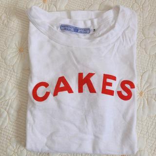 ヤエカ(YAECA)のR&D.M.Co- OLDNAN'S TAILOR  CAKES  Tシャツ(Tシャツ(半袖/袖なし))