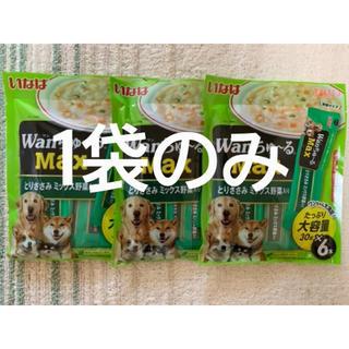 イナバペットフード(いなばペットフード)のいなば wanちゅーる max 1袋6本 犬 おやつ(ペットフード)