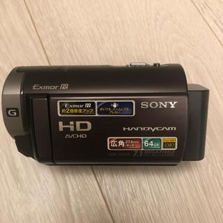SONY -  ソニーデジタルHDビデオカメラレコーダー ボルドーブラウンHDR-CX370V
