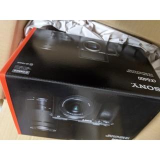 ソニー(SONY)の新品 SONY α6400 ILCE-6400 ボディ ブラック(ミラーレス一眼)